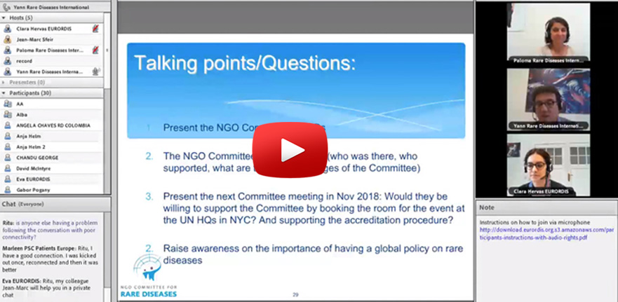 Webinar on United Nations