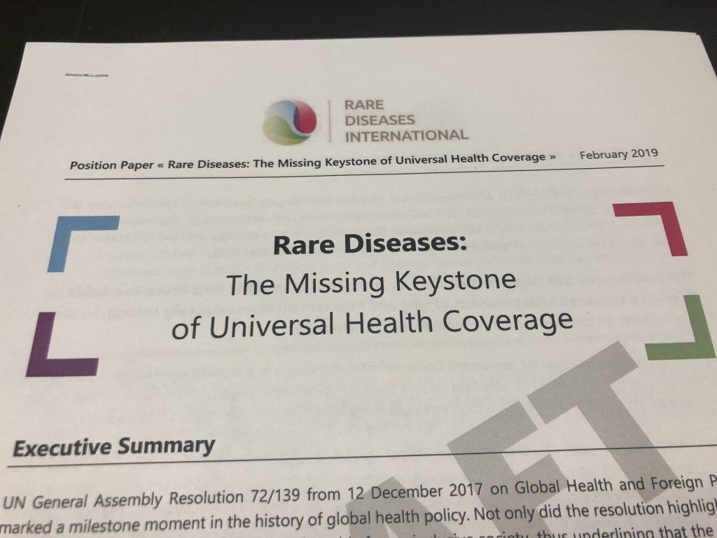 5th RDI Annual Meeting in NYC - Rare Diseases International