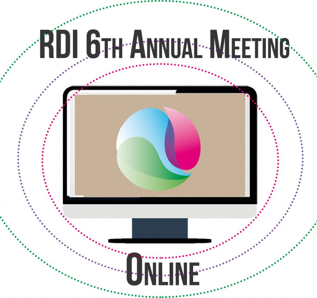 RDI logo and laptop