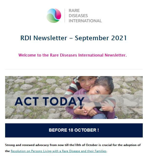 RDI September Newsletter Graphic